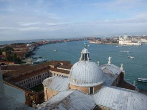 View from campanile, San Giorgio Maggiore.